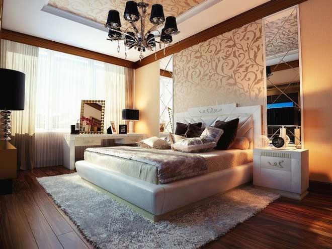 تاثیر زیبایی فرش بر دکوراسیون اتاق خواب