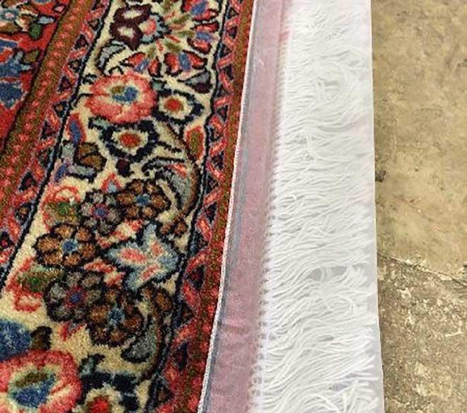 کاور توری نوع دیگری از روش های محافظت از ریشه فرش