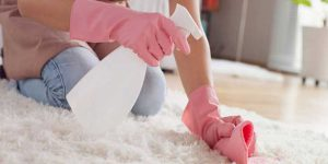 روش های برق انداختن فرش بدون شستن