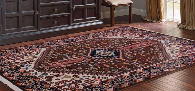زیبایی فرش ماشینی خوب