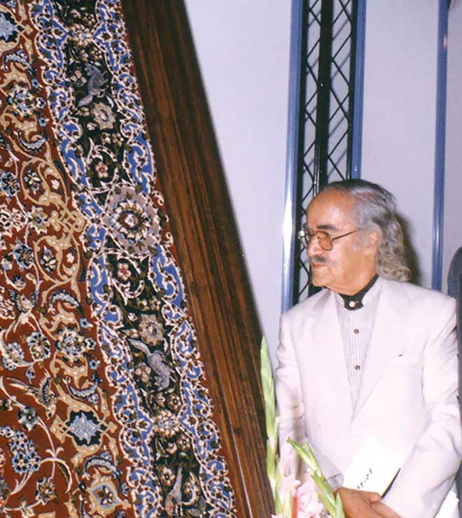 ویژگی فرش های استاد رسام عرب زاده