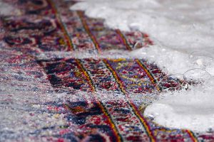 از بین بردن زردی فرش بعد از شستن
