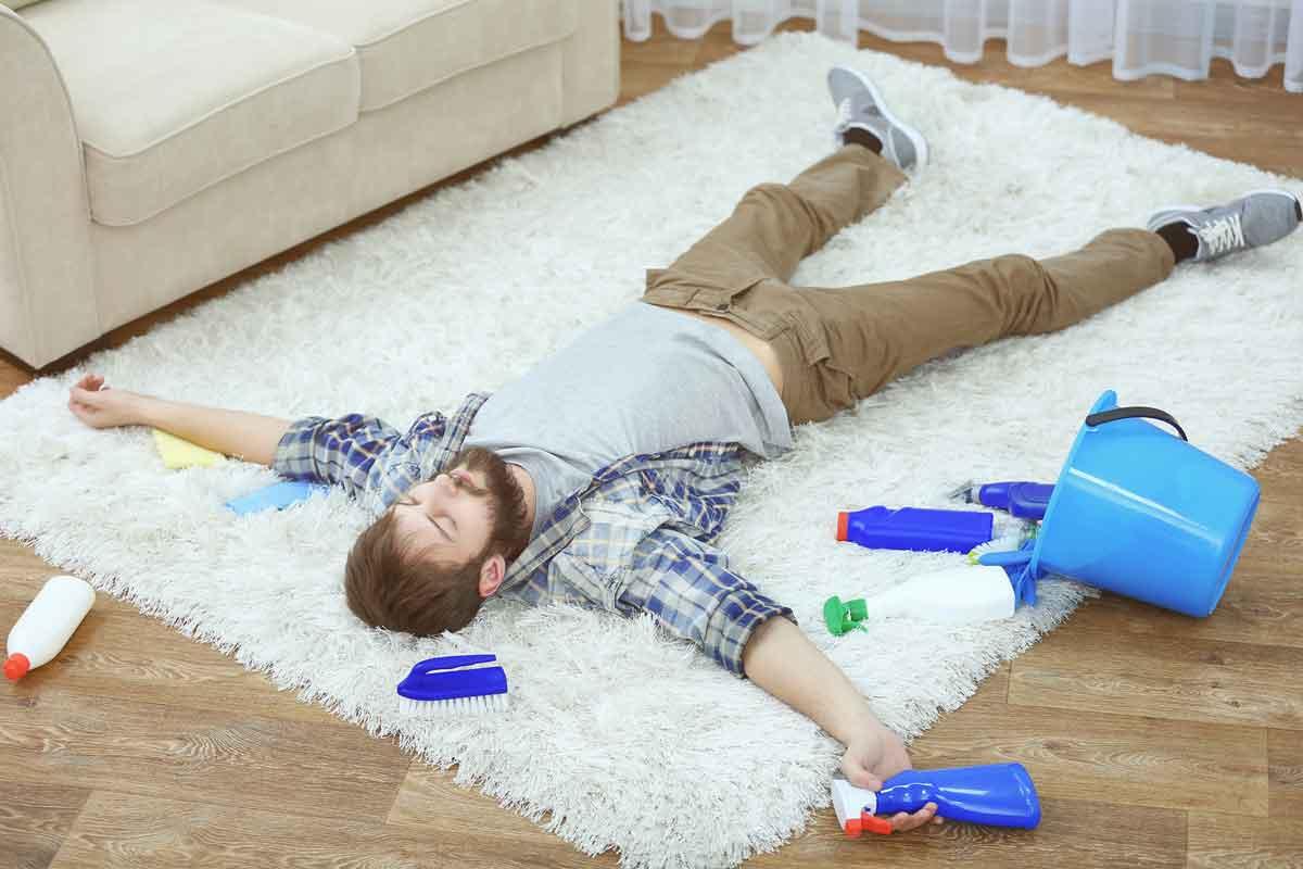 راهکارهایی برای از بین بردن زردی فرش