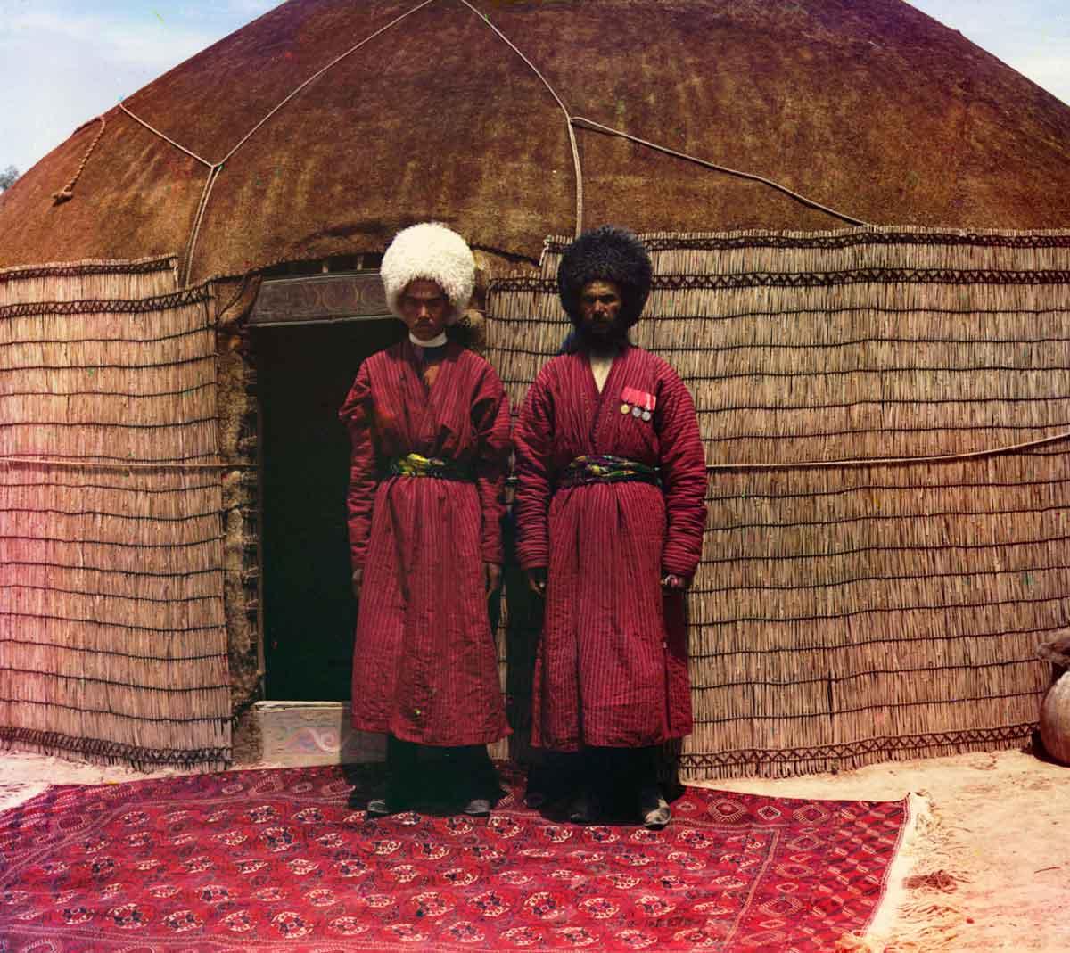 تاریخچه طرح و نقش ترکمن