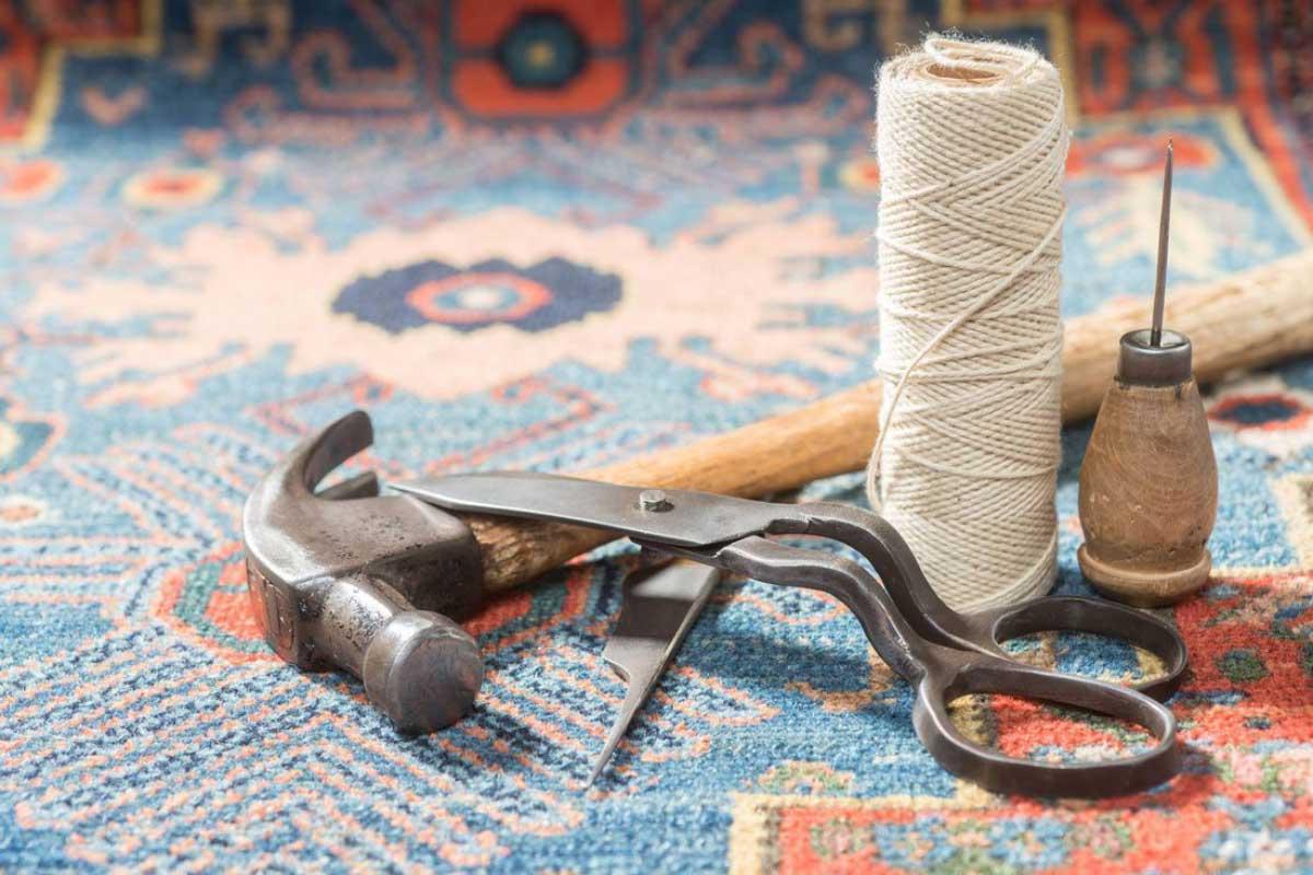 ترمیم فرش یا رفوگری چیست؟