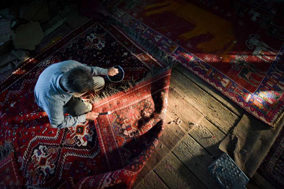 تاریخچه ترمیم فرش